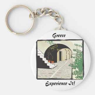 Greek Archway Keychain