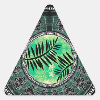 Greek Art Mashup Drawings Triangle Sticker