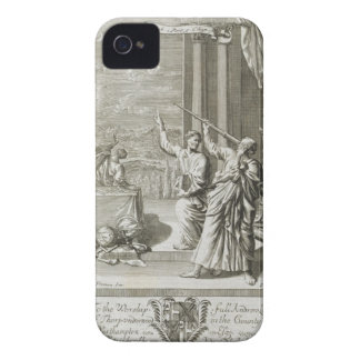Greek Astronomer Studying the Stars, illustration iPhone 4 Case