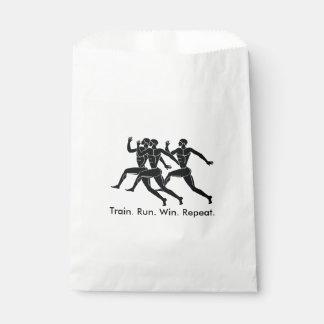 Greek Athlete Sports Running Winning Formula Favor Bags