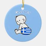 Greek Baby Christmas Tree Ornaments