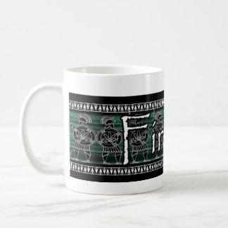 Greek Black Figure Guard Coffee Mug