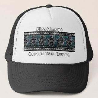 Greek Black Figure Guard Trucker Hat