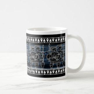 Greek Black Figure Troop Coffee Mug