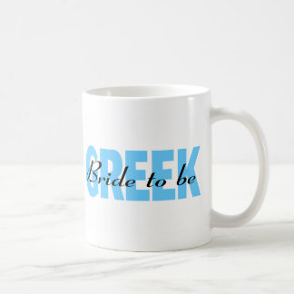 Greek Bride To Be Coffee Mug