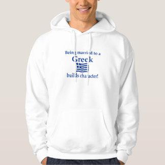 Greek Builds Character Hoodie