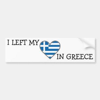 Greek bumper sticker