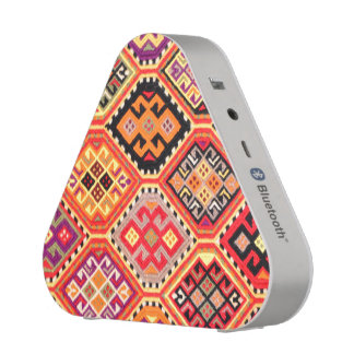greek carpet traditional motif folk pattern genuin bluetooth speaker