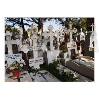 Greek Cemetery Card