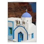 Greek church Card Greeting Card