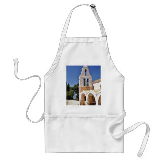 Greek Church In A Summer Day Aprons