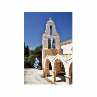 Greek Church In A Summer Day Cut Outs