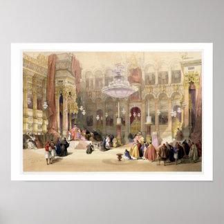 Greek Church of the Holy Sepulchre, Jerusalem, Apr Poster