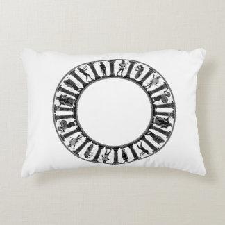 Greek Circle Accent Pillow