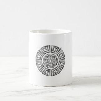 Greek Circle Motif Coffee Mug