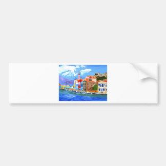 Greek coast bumper stickers