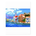 Greek coast post card