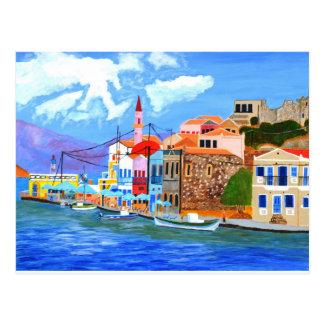 Greek coast postcards