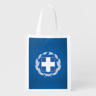 Greek coat of arms grocery bag
