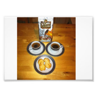 Greek coffee photo print