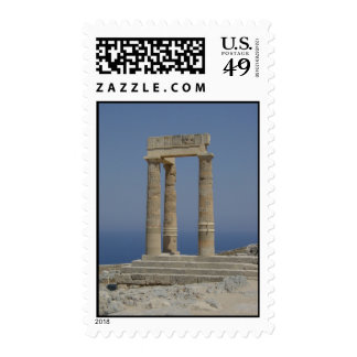 Greek Columns  Postage Stamp