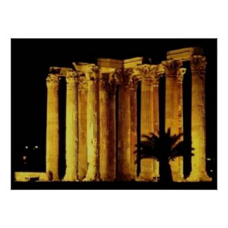Greek Columns Posters