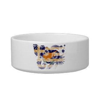 Greek Cyprus Flag Bowl