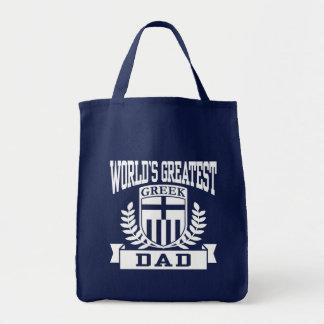 Greek Dad Tote Bag