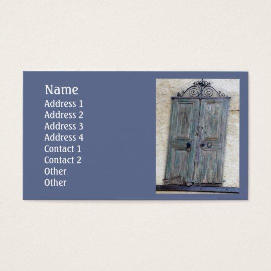 Greek Door Standard Business Card