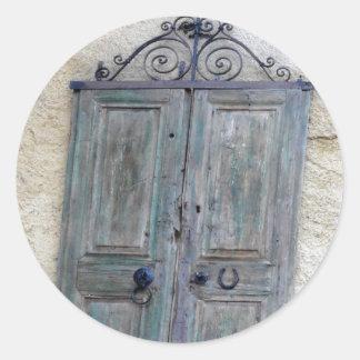 Greek Door Sticker