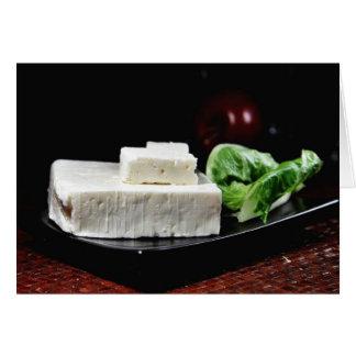 Greek Feta Cheese Card