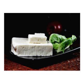 Greek Feta Cheese Postcard