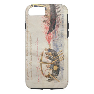 Greek fire (vellum) iPhone 7 case