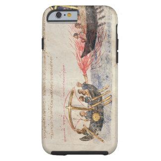 Greek fire (vellum) tough iPhone 6 case