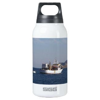 Greek Fishing Boat Insulated Water Bottle