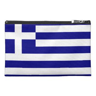 Greek Flag Travel Accessory Bags