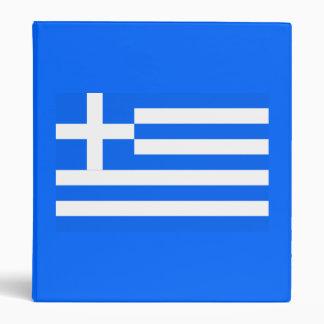 Greek flag binder