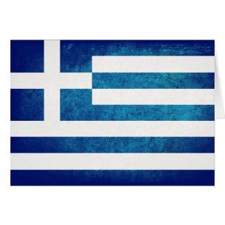 Greek Flag Card