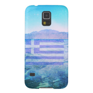 GREEK FLAG CASES FOR GALAXY S5