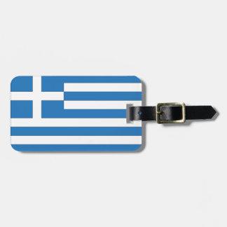 Greek Flag, Flag of Greece Luggage Tag