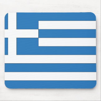 Greek Flag, Flag of Greece Mouse Pad