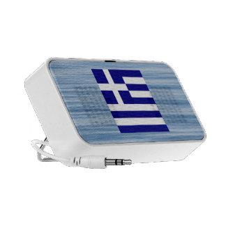 Greek Flag Floating on water PC Speakers