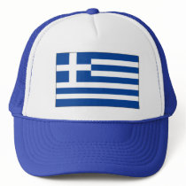 Greek Flag Hat - Proud to Be Greek !