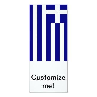 Greek Flag Custom Announcement