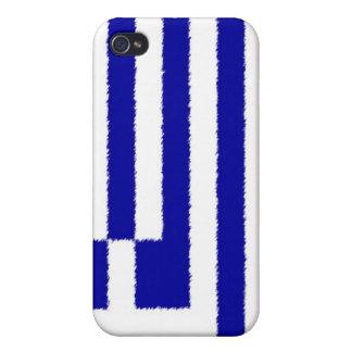 Greek Flag iPhone 4/4S Case