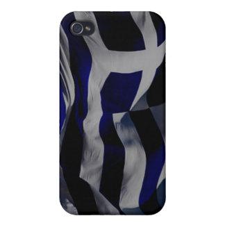 Greek Flag iPhone 4 Cover