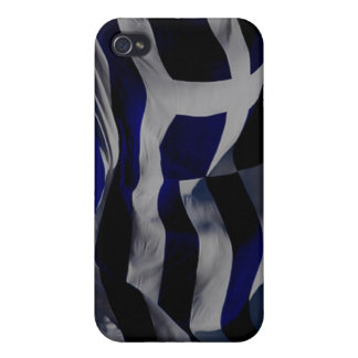 Greek Flag Covers For iPhone 4