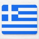 Greek flag mousepad