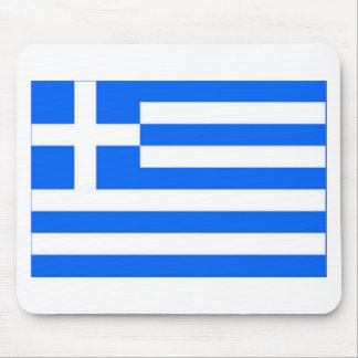 greek Flag Mouse Pad