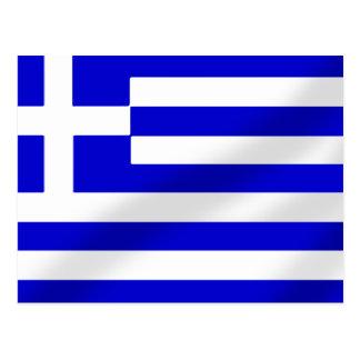 Greek flag of Greece hellenic flag gifts Postcards